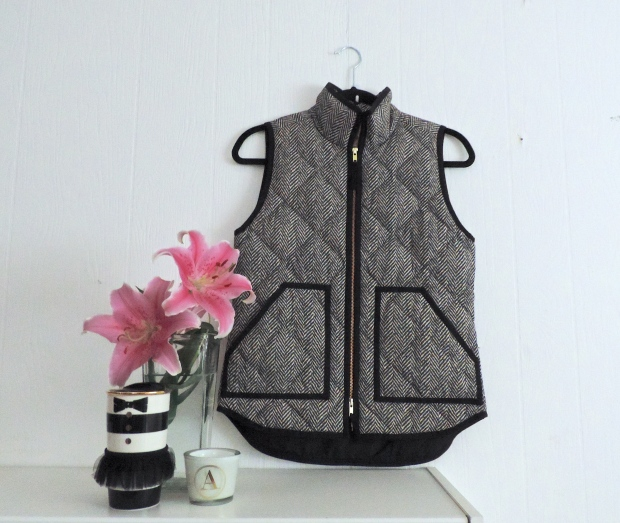 Deals & Steals: The J. Crew Herringbone Vest