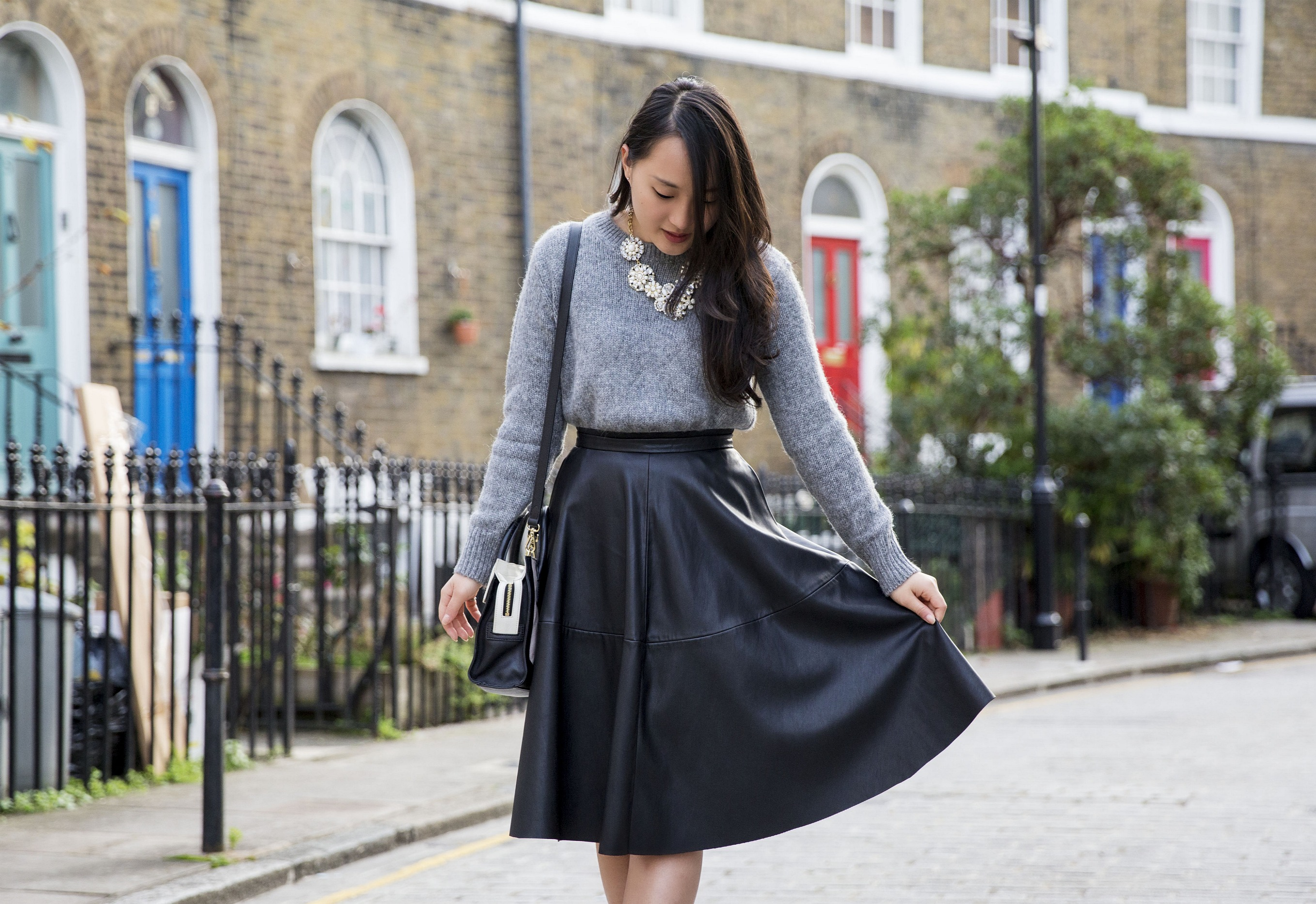 leather skirt | Areta's Style Secrets