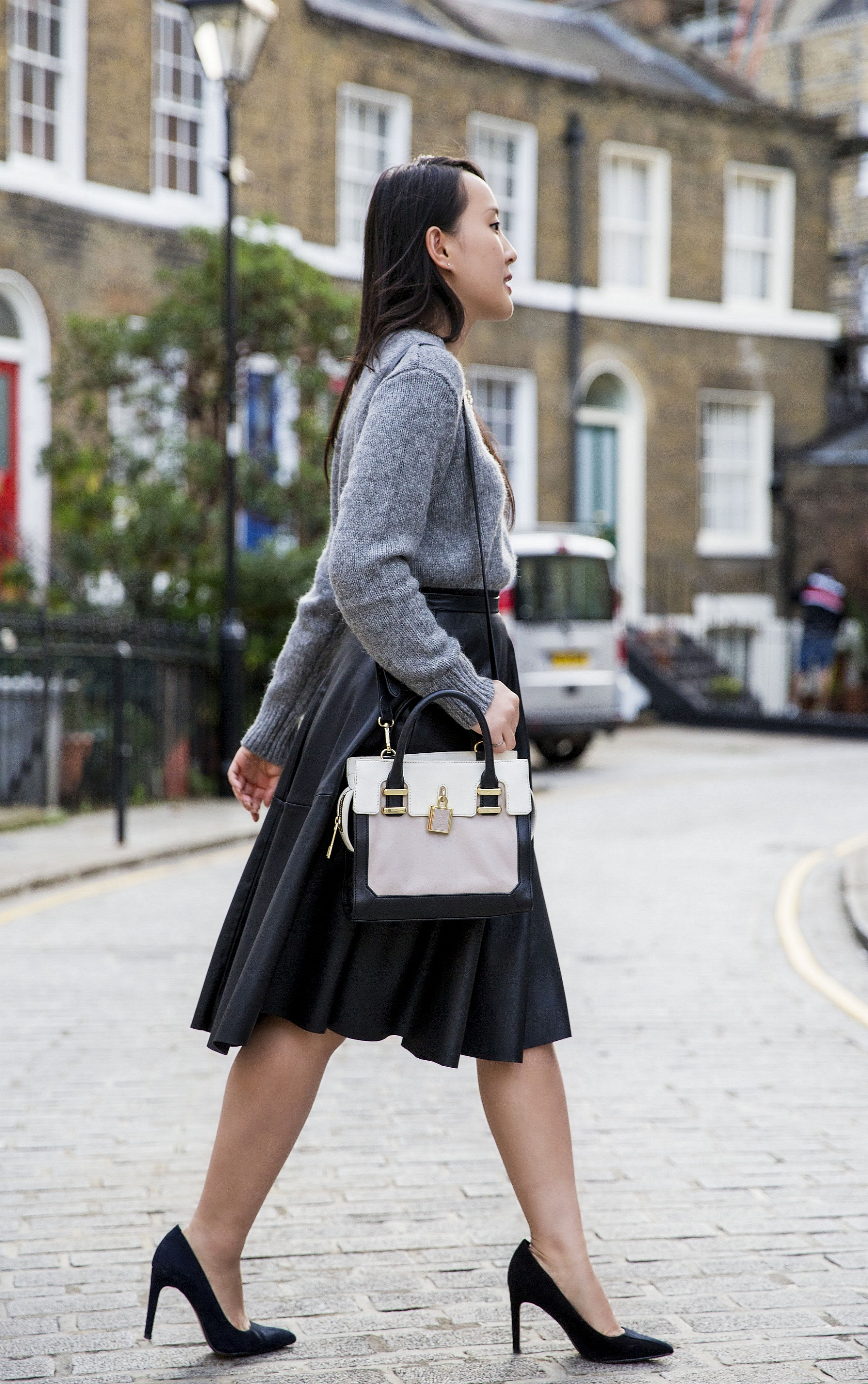 51d0b3a579 Fall Lookbook: The Leather Midi | Areta's Style Secrets