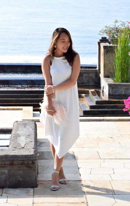 Little White Halter Dress 1