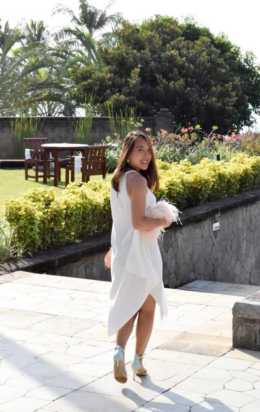 Little White Halter Dress 11