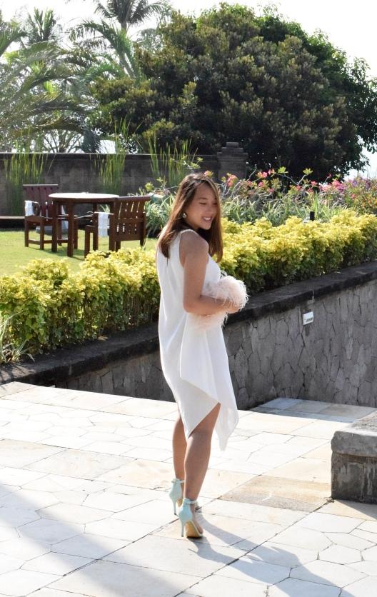 Little White Halter Dress 12