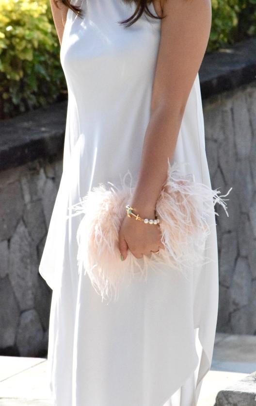 Little White Halter Dress 13