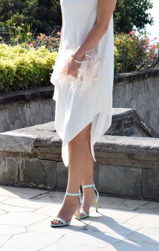 Little White Halter Dress 15