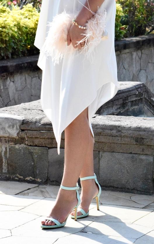 Little White Halter Dress 16